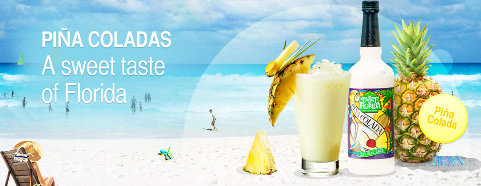 Pina Coladas a sweet taste of Florida